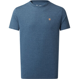 tentree Treeblend Classic T-Shirt Men dark ocean blue heather